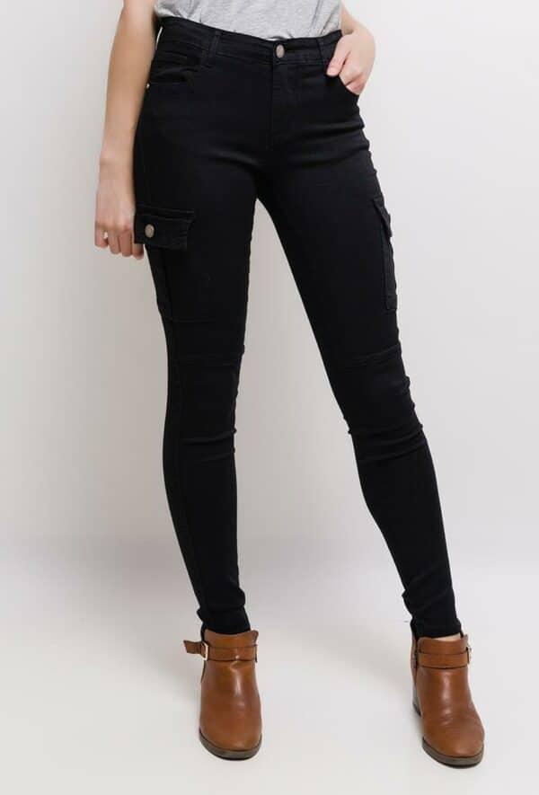 nina carter pantalon cargo1 black 1