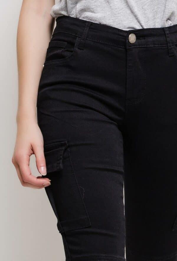nina carter pantalon cargo1 black 2