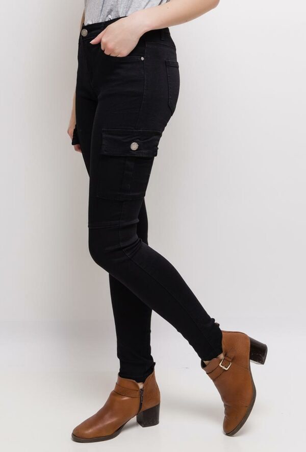 nina carter pantalon cargo1 black 3