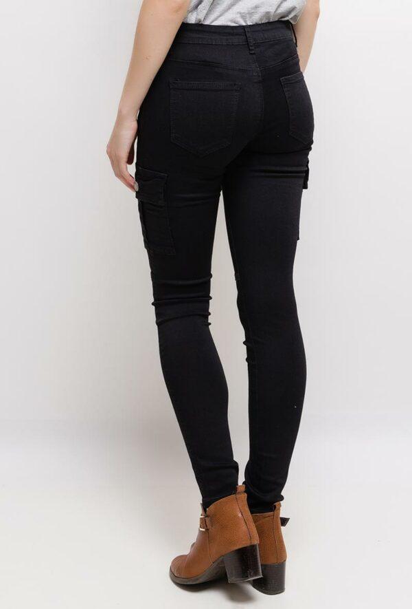 nina carter pantalon cargo1 black 4